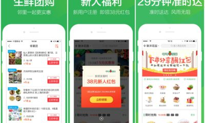 Grocery app Dingdong Maicai secures $330 million funding