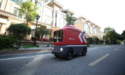 Delivery robots to come to Beijing streets