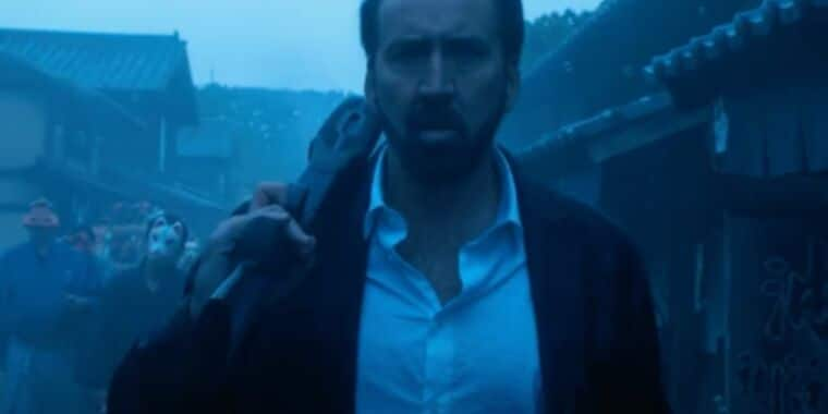 Nic Cage chews scenery with gusto in Prisoners of the Ghostland trailer