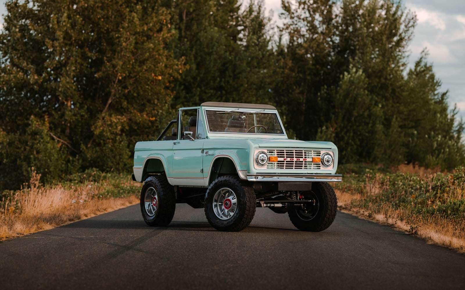 Want a 1972 Ford Bronco turned into an EV? It'll cost you $380,000