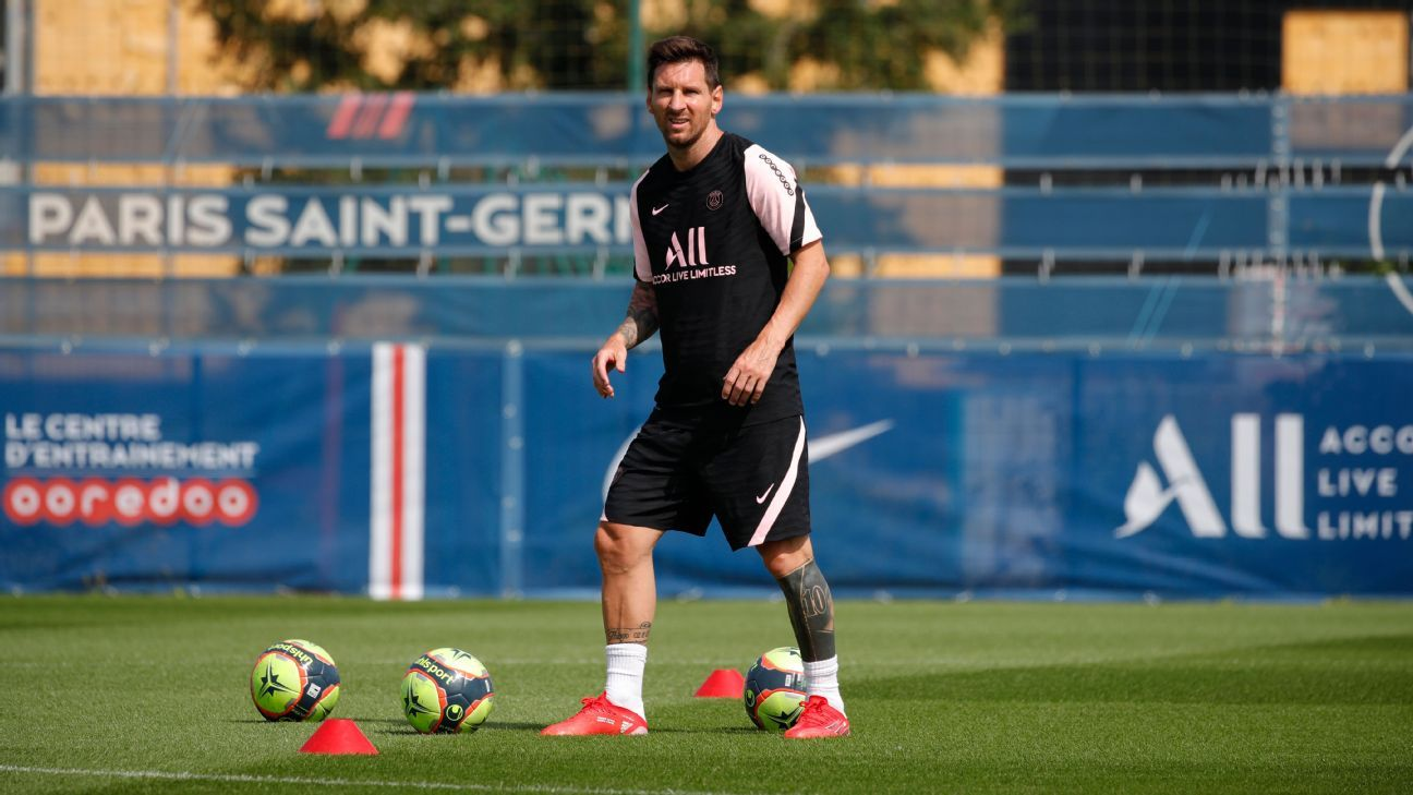 Messi in line to see first PSG action on Sunday