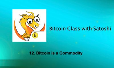 Why it matters that Bitcoin is a commodity, on Bitcoin Class with Satoshi