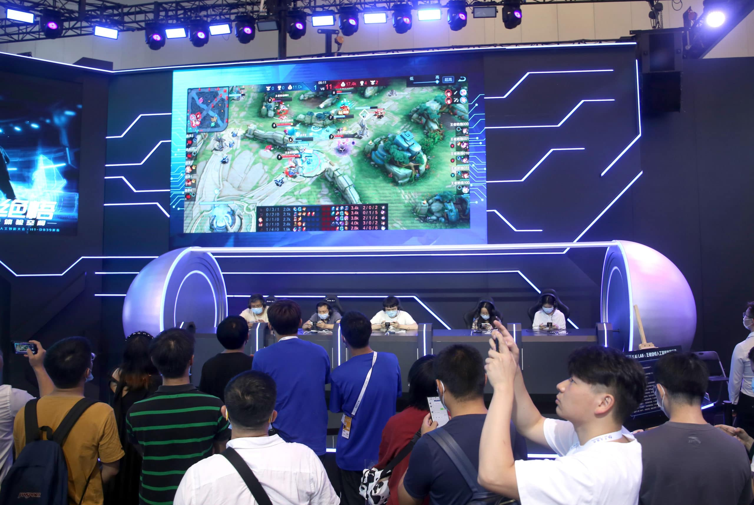 Tencent limits how long kids can play its flagship game, 'Honor of Kings'