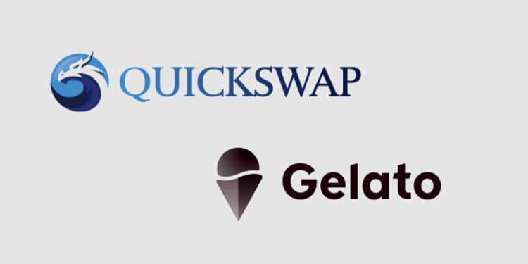 Users of QuickSwap DEX can now execute limit orders natively thanks to Gelato