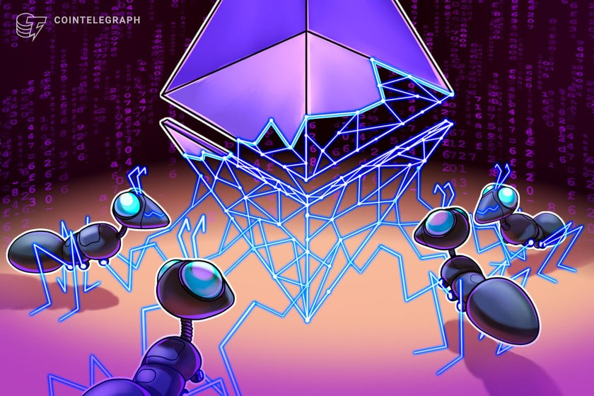 Ethereum supply flips briefly into deflation as gas fees spike