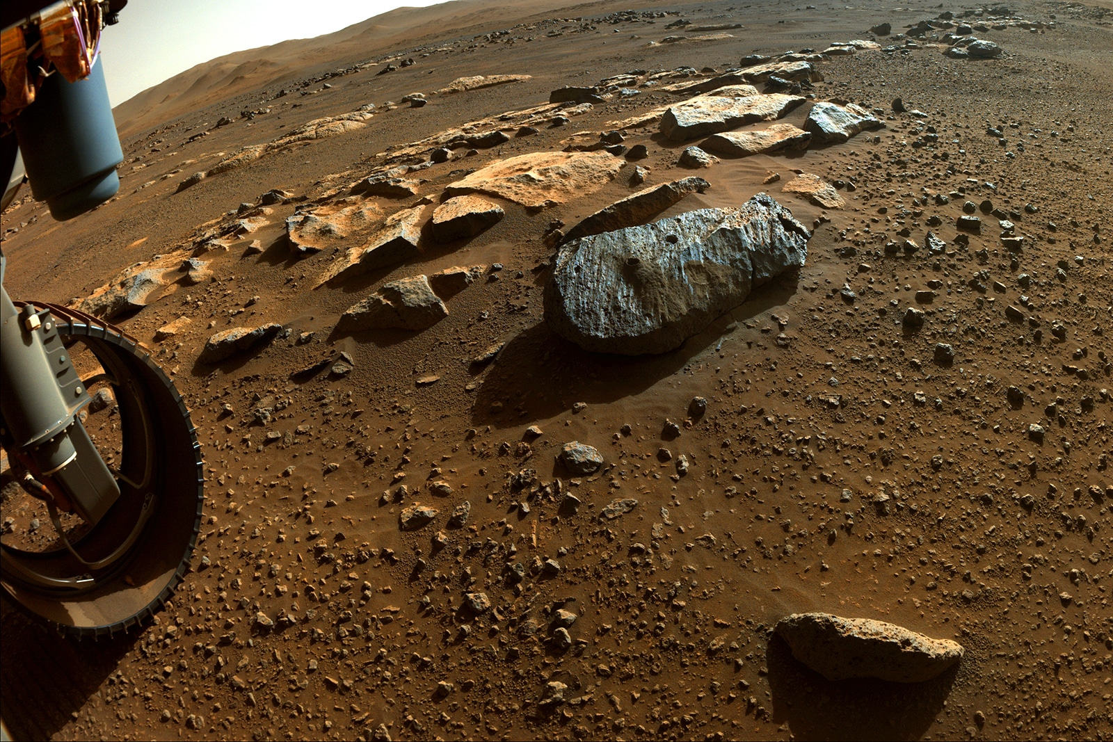 Perseverance rover samples hint Mars had water for a long time