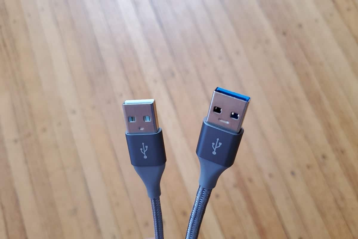 Are all USB-C to USB-A cables the same? We compare two $12 Amazon Basics cables