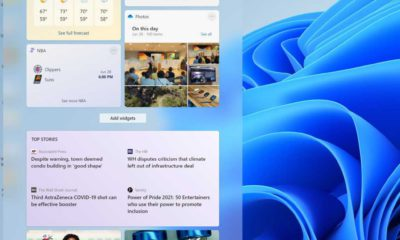 How to remove the Widgets button from Windows 11