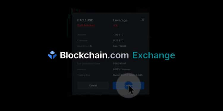 Blockchain.comExchange launches BTC/USD margin trading with 5x leverage