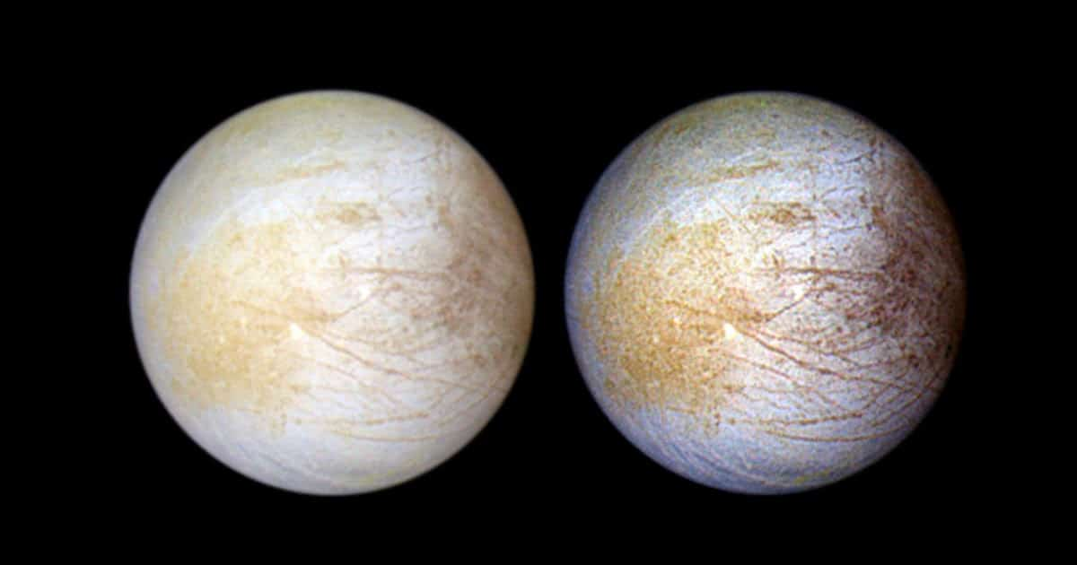 Hidden Water Vapor Was Just Discovered On Europa's Icy Surface
