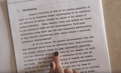 What Richard Feynman's PhD Thesis Looks Like: A Video Introduction (2020)