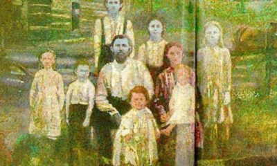The Fugate family of Kentucky has had blue skin for centuries (2017)